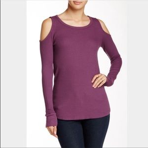 Splendid Mullberry Cold Shoulder Thermal -small